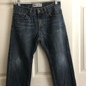 Levi's 505 Regular Medium Blue Wash Boys Jeans